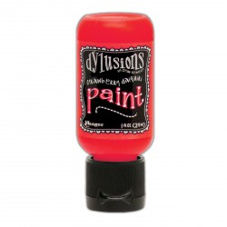 Strawberry Daiquiri Paint Dylusions by Dyan Reaveley