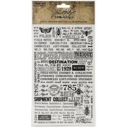 Specimen Temnant Rubs idea-ology by Tim Holtz