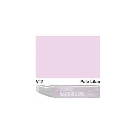 V12 Pale Lilac Various Ink