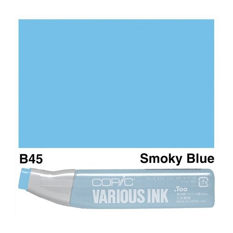 B45 Smoky Blue Various Ink