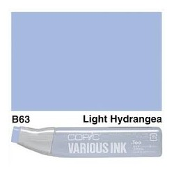 B63 Light Hydrangea Various Ink