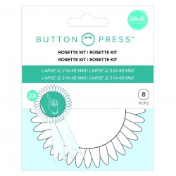 Button Press Rosette Kit We R Memory Keepers
