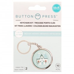 Keycahin Kit x Button Press We R Memory Keepers