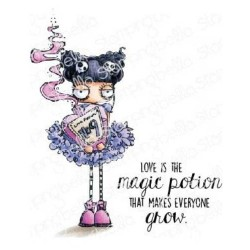 Love Potion Cling Stamps The Oddball Collection Stamping Bella