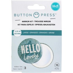 Button Press Adhesive Mirrors We R Memory Keepers