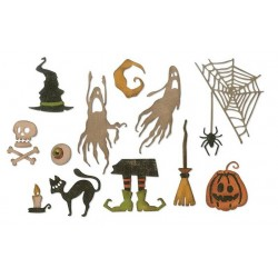 Frightful Things Thinlits Dies Sizzix by Tim Holtz