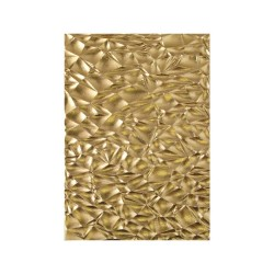 Crackle 3D Texture Fades Embossing Folder Sizzix by Tim Holtz