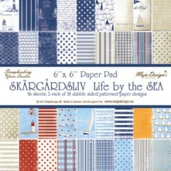 Life by the Sea Paper Pad 6x6