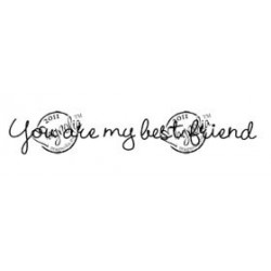 You are my Best Friend (text)