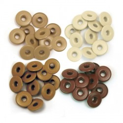 Brown Eyelets Wide
