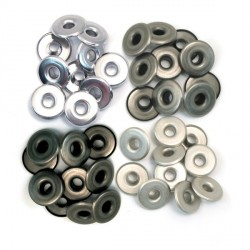 Cool Metal Eyelets Wide