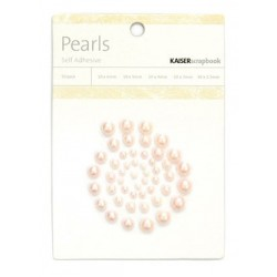 Blush Pearls Adhesive 50 pkg