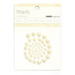 Champagne Pearls Adhesive 50 pkg