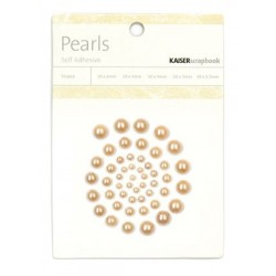 Chocolate Pearls Adhesive 50 pkg