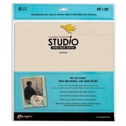 """Canvas Sheets 12"""" Claudine Hellmuth Studio"""