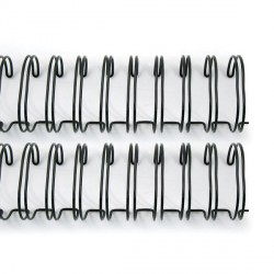 "Cinch Wires Silver 1"" 2/Pkg"