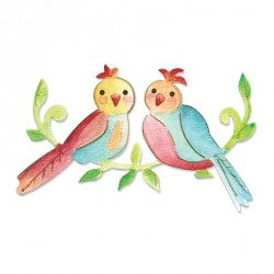 Love Birds Sizzix Bigz Die