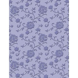 Cottage Floral Craft C. Embossing Folder