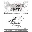 Paper Parachute Rubber Stamps